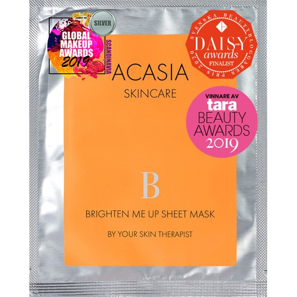 Acasia Skincare Brighten Me Up Sheet Mask